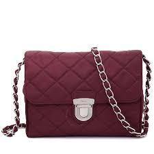 Prada Quilted Shoulder Bag - Garnet - Prada - Handbags - Jomashop & Prada Quilted Shoulder Bag - Garnet Adamdwight.com