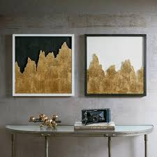 gold wall art gold wall decor set of 2 gold lips wall art hobby lobby
