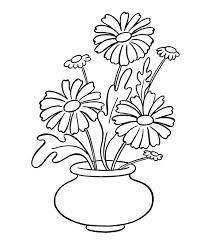 Small Picture Simple Flower Coloring Page Flower Coloring pages of