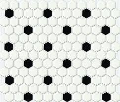Concept Black And White Hexagon Tile Floor Httpfloortilemosaiccompicbig With Models Ideas