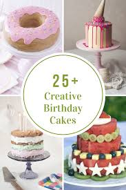 Creative Birthday Cakes The Idea Room