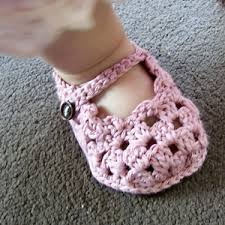 Crochet Baby Sandals Pattern Interesting Crochet Baby Sandals 48 Free Patterns On Moogly Pinterest