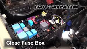 replace a fuse 2005 2015 toyota tacoma 2008 toyota tacoma 2 7l 6 replace cover secure the cover and test component