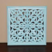 sky blue mirrored wall panel 18 wooden