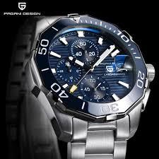 Pagani Design Watch Amazon Com Pagani Design Mens Quartz Watch Stainless Steel