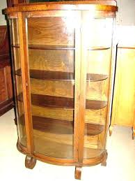 oak curio cabinets with curved glass oak curio cabinets oak curio cabinet antique bow front china oak curio cabinets with curved glass