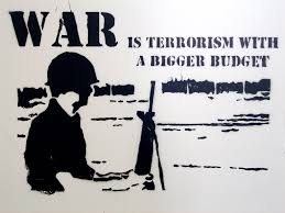 war war is terrorism a bigger budget