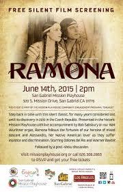 Free Silent Film Screening 1928s Ramona Discussion