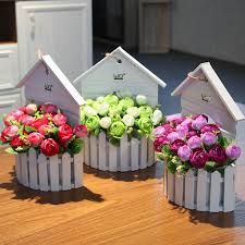 get ations wo fence daisy chrysanthemum suit small fl wall hanging basket flower orchids artificial flowers decorate