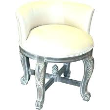 chrome vanity stool stools on caster vanities swivel casters classy design and chairs with storage stoo