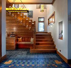 Craftsman Staircase american style stairs staircase craftsman with built in bench 8705 by xevi.us