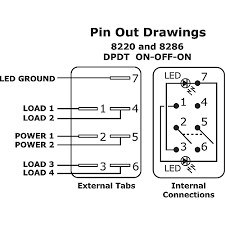 carling toggle switch wiring diagram wiring diagram and illuminated rocker switch wiring diagram on off