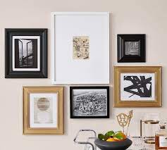 gallery in a box frames gold black