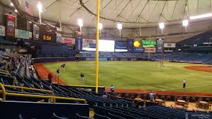 Tropicana Field Section 135 Tampa Bay Rays Rateyourseats Com