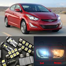 Hyundai Elantra License Plate Light Replacement Us 9 9 10 Off 9pcs Led License Plate Lamp Interior Lights Kit Package For 2011 2015 Hyundai Elantra Dome Map Trunk Cargo Area Light Lamps In