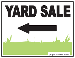 sale signs printable yard sale signs download a free printable sign