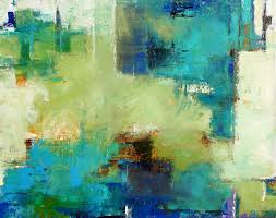 supple modern art contemporary abstract painting by elizabeth chapman