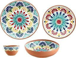 outdoor dinnerware sets melamine piece set australia uk