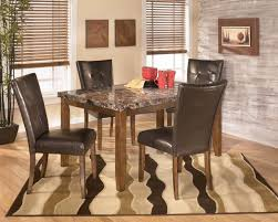Ashley Furniture Kitchen Chairs Dining Room Table Set Piece Dining Set Wood Metal Chairs And