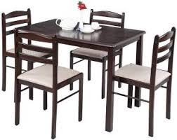 dining table online sale india. royaloak hunter solid wood 4 seater dining set table online sale india