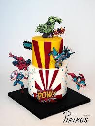 Пин от пользователя Daniel Felippe Marques Fernand на доске Geek Cake    Торты на день рождения мальчика, Вечеринка мстителей, Торт супергерои