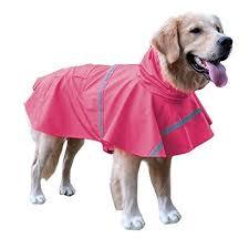 Bingpet Ba1065 Adjustable Dog Raincoat Pet Puppy Lightweight
