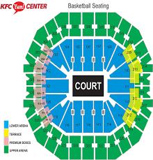 Bradley Center Detailed Seating Chart Eaglebank Arena Seating Chart Punctual Eaglebank Arena