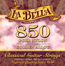 La Bella String Tension Chart La Bella 850 Elite Classical Mt Classical Guitar Strings Full Set