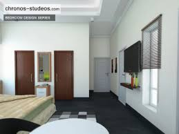 3d design bedroom. Stylish Bedroom 3D Visualization By Chronos Studeos Architects Black And White Colour Scheme 3d Design
