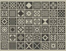Sanquhar Ish Squares Chart Pattern By Fiona Bearclaw