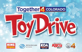 cbs4 kcnc tv teams up with king soopers 97 3 kbco and koa newsradio for the 2017 together 4 colorado toy drive collecting toys for boys s clubs of