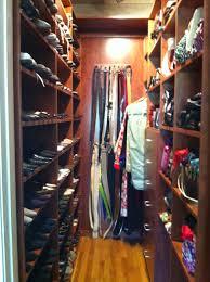 custom designed shoe and purse closet