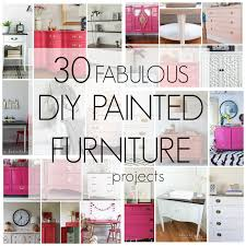 pink painted furniture. White Painted Furniture, Pink Coral  Diy Furniture T