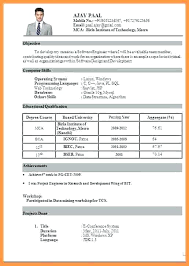 Format Of Resume Download – Cuspdata.co