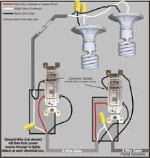 3 way switch wiring diagram \u003e power to switch, then to the other 3 way switch wiring diagram multiple lights at 3 Way Switch Wiring Diagram Power At Switch