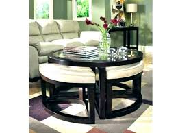 coffee table with nested ottomans coffee table with nesting ottoman coffee table with nesting ottomans s