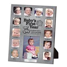 baby collage frame baby s first year collage picture frame lordsart