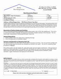 15 New Sample Roof Inspection Report Lancerules Worksheet