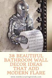Shop for bathroom wall decor online at target. Bathroom 38 Beautiful Bathroom Wall Decor Ideas That Add Modern Flare