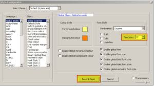 change text size how to change font size in notepad super user
