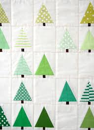 Mini Quilt Patterns | Purl bee, Craft patterns and Tree quilt & Lovely Design's Lovely Little Forest Quilt - The Purl Bee - Knitting  Crochet Sewing Embroidery Crafts Adamdwight.com
