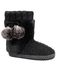 Mukluks Slipper Boots Size Chart Womens Coralee Boot Slippers