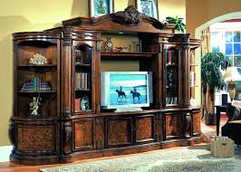 White Entertainment Center : Modern Entertainment Wall Unit ...