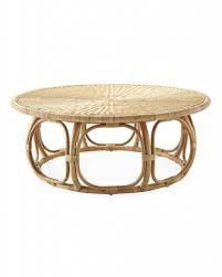 Round Rattan Ottoman Coffee Table Round Rattan Ottoman Coffee Table Rattan Tables