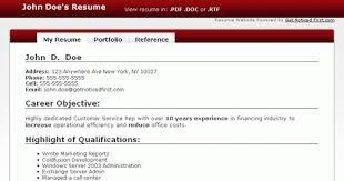 make resume online free - Make A Resume For Free