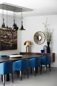 dining chairs amusing blue leather pertaining to remodel 10