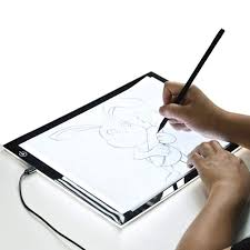 Super Thin Light Box Amazon Com Copy Board A4 Led Drawing Light Box Super Thin