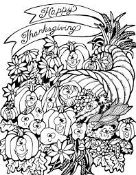 Small Picture Thanksgiving harvest cornucopia Thanksgiving Coloring pages