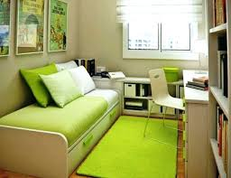 With lots of various indoor plants earthy decor items and ethnic accessories this small guest bedroom indeed has a very catchy boho decor. Small Home Office Guest Room Ideas Green Bed Small Office Guest Room Ideas Mrrainsfunhouse Com
