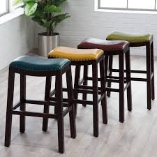 charming whiter counter stools with nailheads modern height faux
